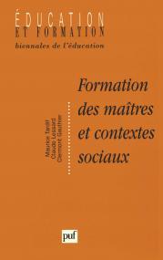 Formation des maîtres et contextes sociaux