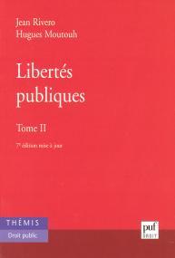Libertés publiques. Tome 2