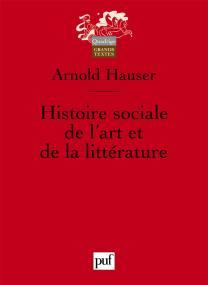 Histoire sociale de l'art et de la littérature