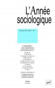 année sociologique 2018, vol. 68 (1)