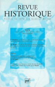 Revue historique 2002, n° 624
