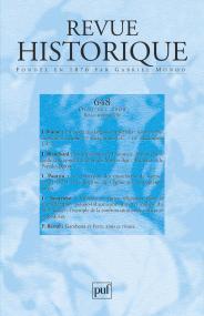 Revue historique 2008, n° 648