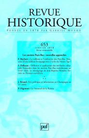 Revue historique 2010, n° 653