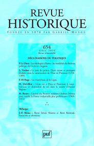 Revue historique 2010, n° 654