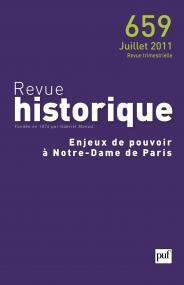 Revue historique 2011, n° 659