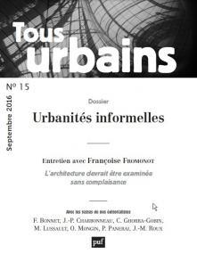 Tous urbains n° 15 (2016)