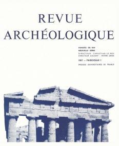 Revue archéologique 1997, n° 1
