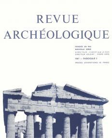 Revue archéologique 1997, n° 2