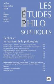 études philosophiques 2001, n° 3