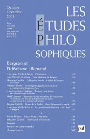 études philosophiques 2001, n° 4