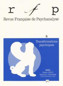 RFP 2002, t. 66, n° 5 (Congrès)