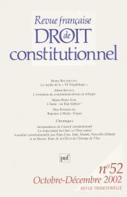 RFDC 2002, n° 52