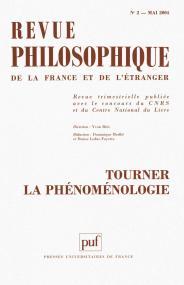 Revue philosophique 2004, t. 129 (2)