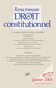 RFDC 2004, n° 57
