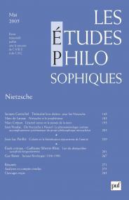 études philosophiques 2005, n° 2