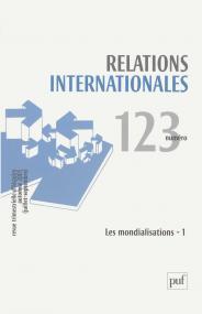 Relations internationales 2005, n° 123