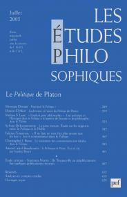 études philosophiques 2005, n° 3