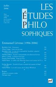 études philosophiques 2006, n° 3