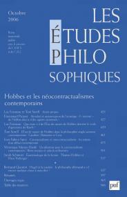 études philosophiques 2006, n° 4