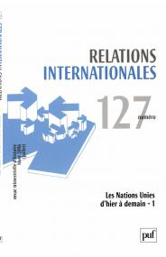 Relations internationales 2006, n° 127