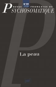 Rev. fr. de psychosomatique 2006, n° 29