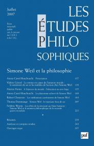 études philosophiques 2007, n° 3