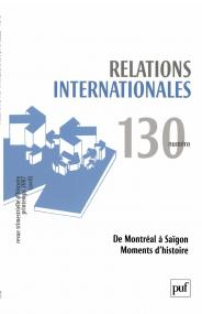 Relations internationales 2007, n° 130