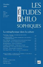 études philosophiques 2008, n° 4
