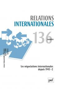 Relations internationales 2008, n° 136