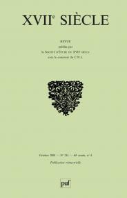 XVIIe siècle 2008, n° 241