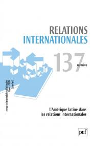 Relations internationales 2009, n° 137
