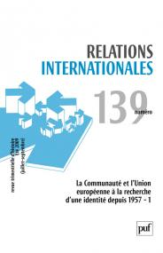 Relations internationales 2009, n° 139