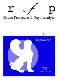 RFP 2009, t. 73, n° 5 (Congrès)