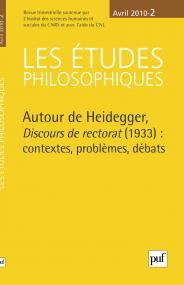 études philosophiques 2010, n° 2