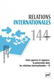 Relations internationales 2010, n° 144