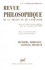 Revue philosophique 2010, t. 135 (4)