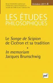 études philosophiques 2011, n° 4