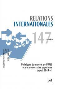 Relations internationales 2011, n° 147