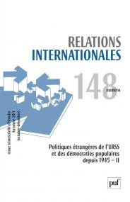 Relations internationales 2011, n° 148