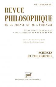 Revue philosophique 2011, t. 136 (2)