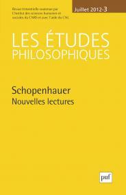 études philosophiques 2012, n° 3