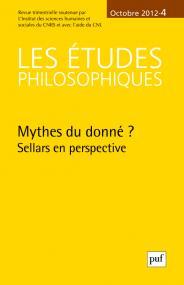 études philosophiques 2012, n° 4