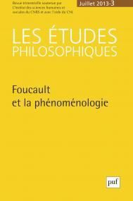 études philosophiques 2013, n° 3