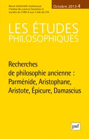 études philosophiques 2013, n° 4