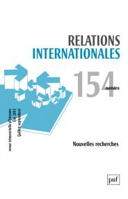 Relations internationales 2013, n° 154