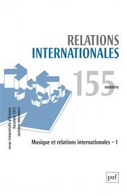 Relations internationales 2013, n° 155