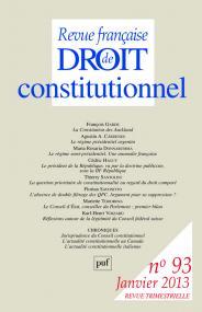 RFDC 2013, n° 93