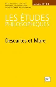 études philosophiques 2014, n° 1