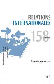 Relations internationales 2014, n° 158