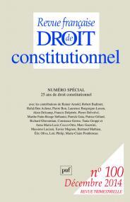 RFDC 2014, n° 100